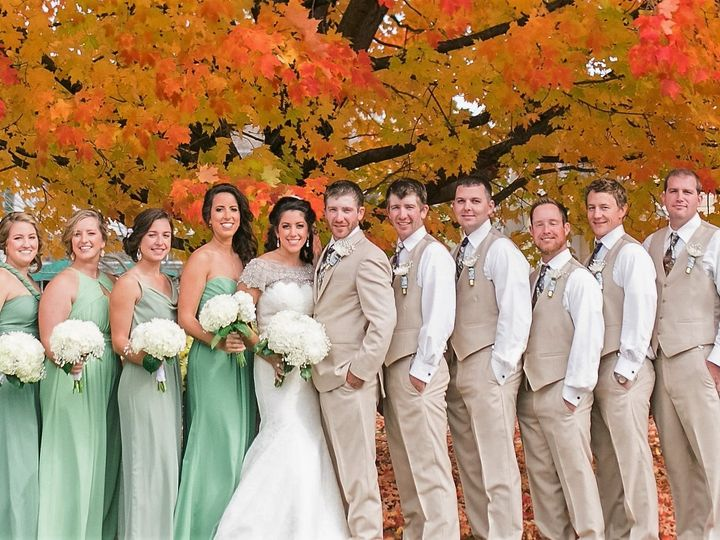 Tmx 1451760922340 Mr Mrs Shelley October 25th 2015 Bridal Party 0011 Reisterstown, MD wedding florist