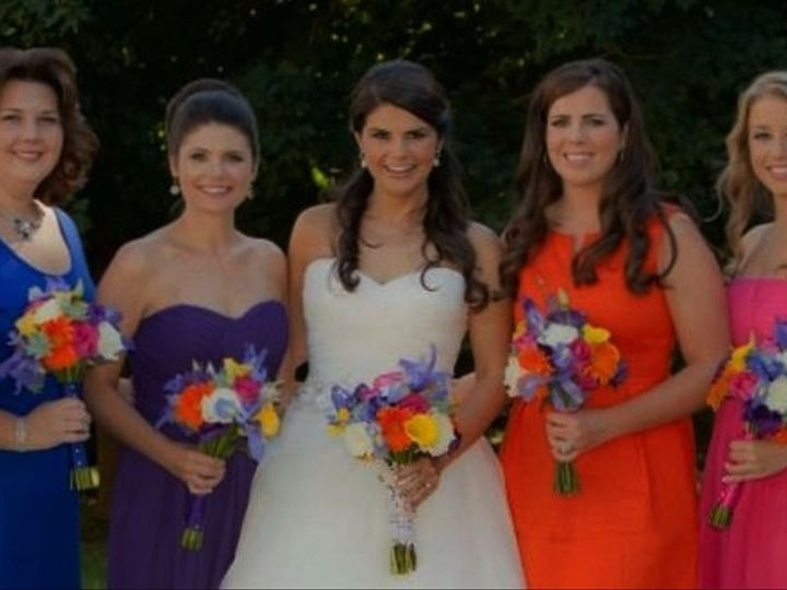 Tmx 1451762760554 Brittany And Bridesmaids Reisterstown, MD wedding florist