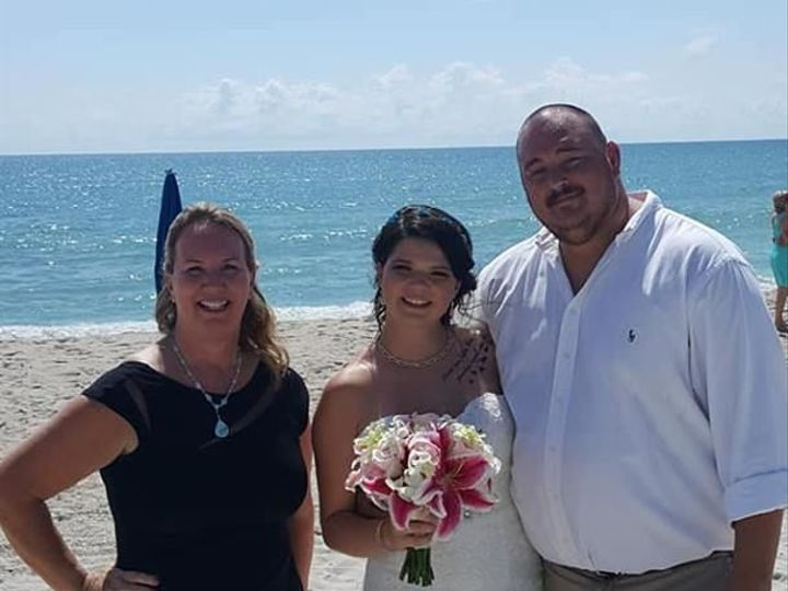 Tmx 1535072515 364b0403659878ee 1535072514 6a9b93da01d42efe 1535072514518 3 C Cocoa Beach, FL wedding officiant
