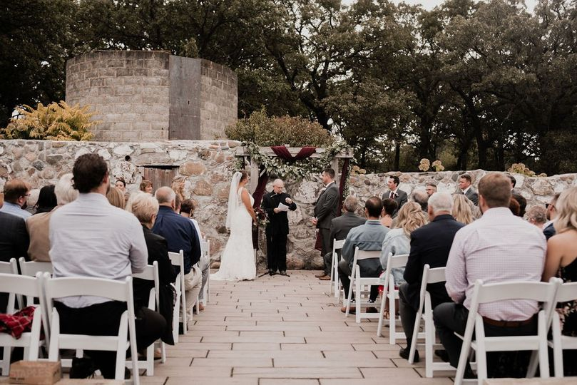 Foundation Patio Ceremony