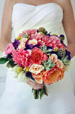 Tmx 1369060302283 Colorful Rustic Dahlia Bouquet 1 Lockport wedding florist
