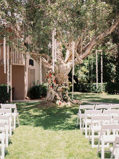 Valencia Lawn Ceremony