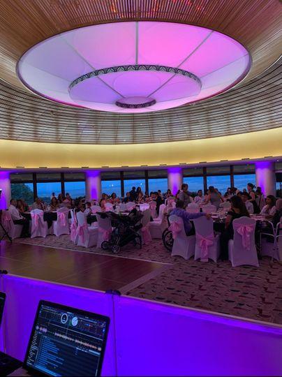 Purple room lighting
