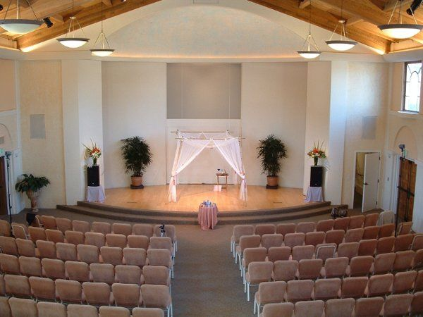Sanctuary Ceremony with Chuppah