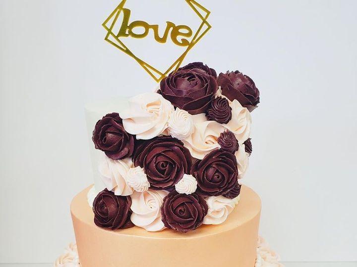 Tmx Coralrosette 51 1924935 158041483617082 Severn, MD wedding cake