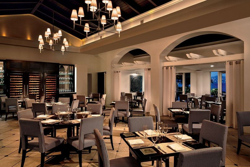 Warm dining areas