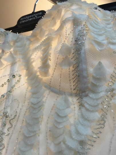 Detailed Bodice After Cleaning