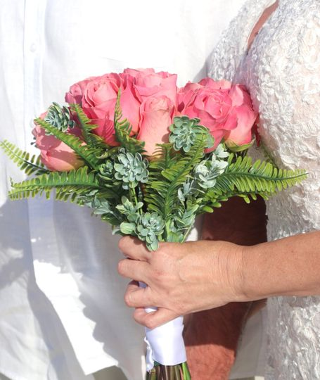 Bahamas Bridal Bouquet