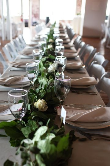 Long table setup