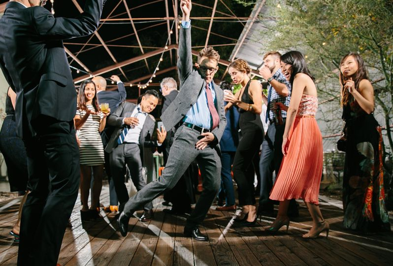 Lighting up the dance floor - Photo by Jenn Emerling