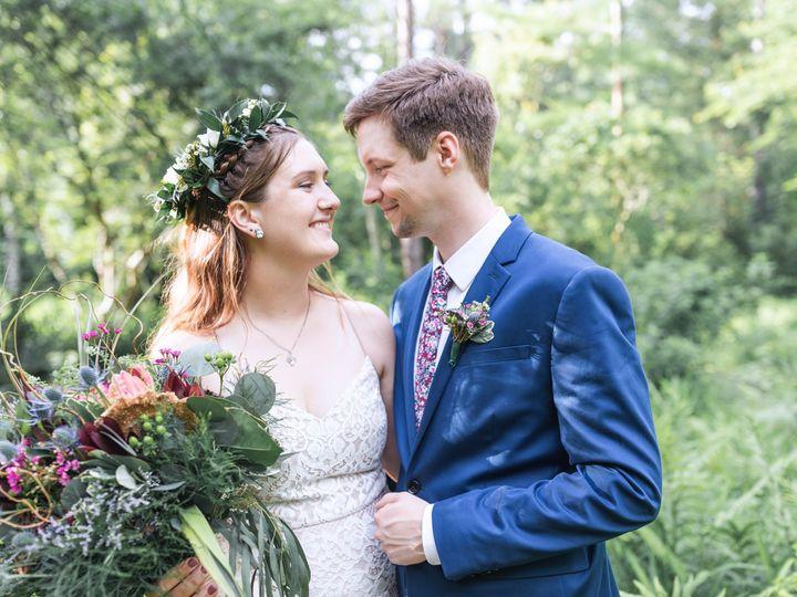 Tmx Emily Benjamin May262018 Bride Groom Web 65 51 157935 1564504164 Chapel Hill, NC wedding florist