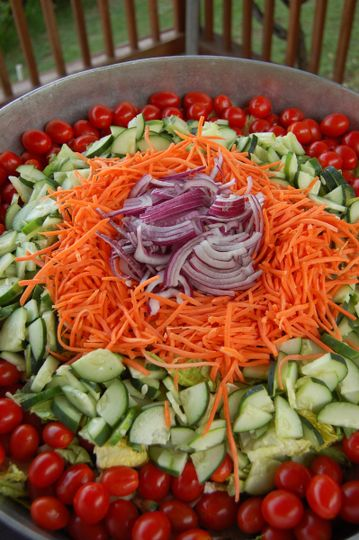 Garden Salad served with Dressing of your choice