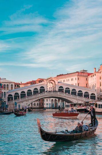 Go for a romantic gondola ride