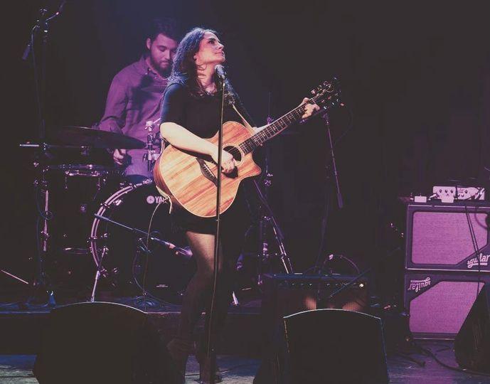 Corina performing