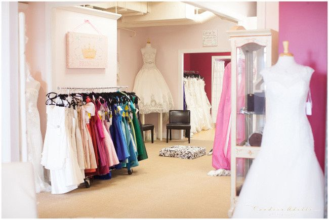 Blush Bridal Boutique is a small, intimate full service bridal salon.