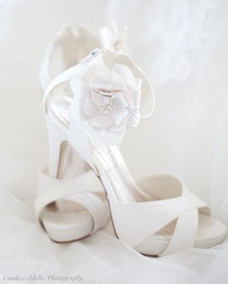 Blush Bridal Boutique carries a wide range of wedding accessories including shoes.