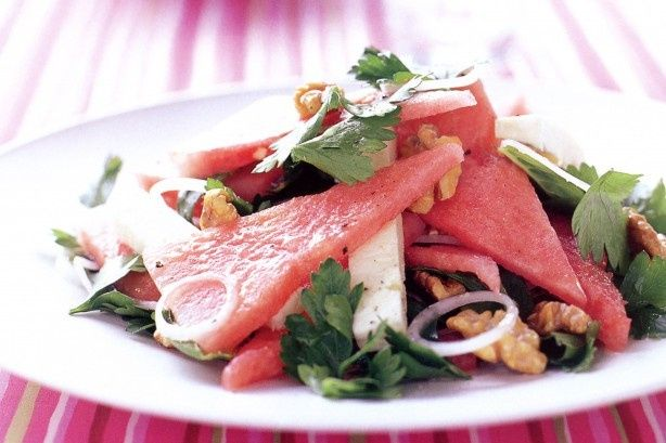 Tmx 1484760902135 Watermelon Feta Salad With Lemon Dressing 8302l Bridgehampton, NY wedding catering