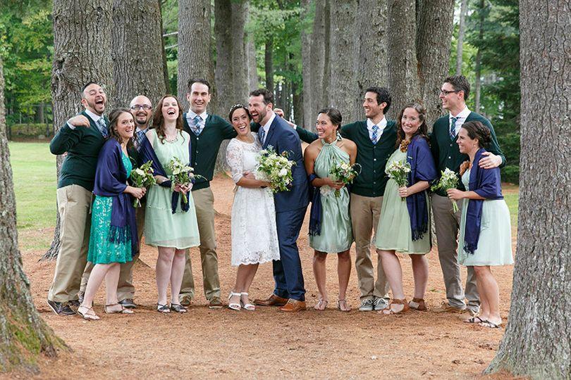 emily kay bridal party