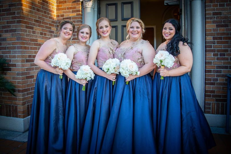 Custom Bridesmaids