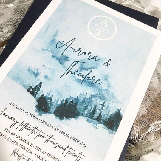 Junie's Invitations + Decor
