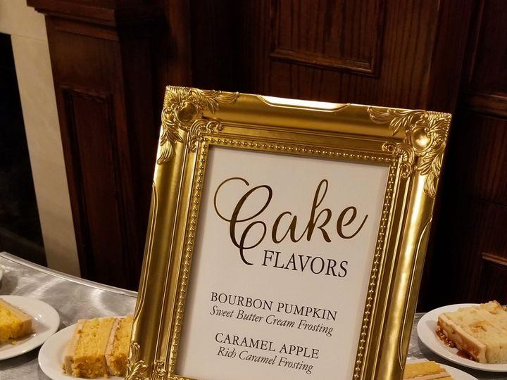 Tmx Cake Sign2 51 1894045 159093821285901 Davenport, IA wedding invitation