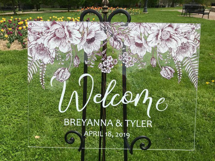 Tmx Clear Floral Sign Tulips Closeup 51 1894045 159054497264558 Davenport, IA wedding invitation