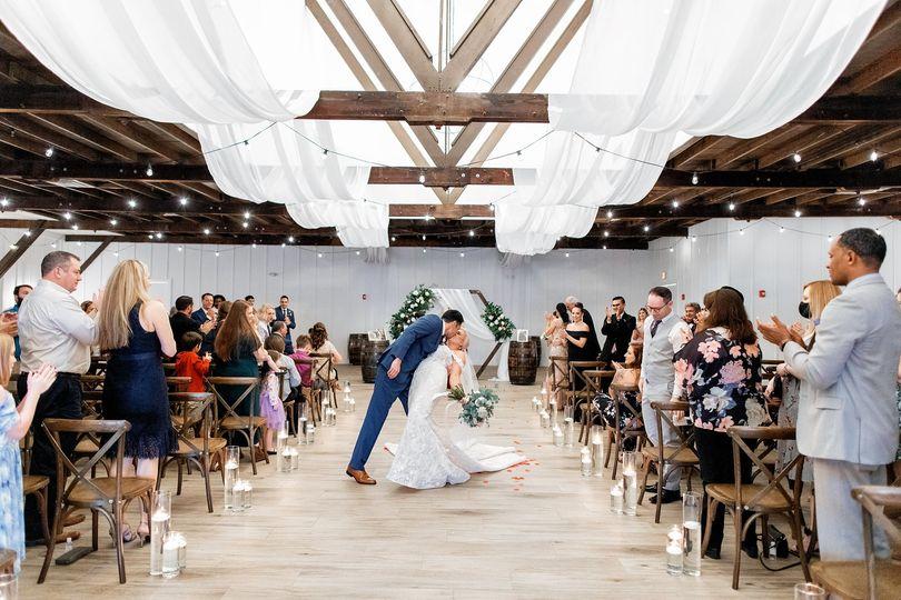 Wedding at the Grand Ol' Barn