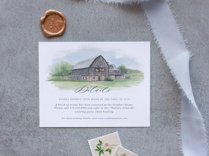 Tmx Enchantedbarn Detailsmockup 51 1915045 158584345569648 Wisconsin Dells, WI wedding invitation
