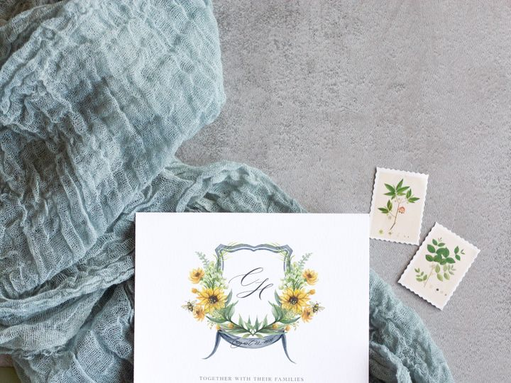 Tmx Sunflower Mockup 1 51 1915045 158584419297565 Wisconsin Dells, WI wedding invitation