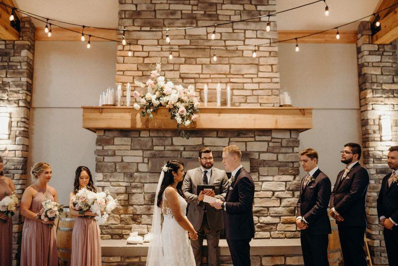 Sharing Written Vows