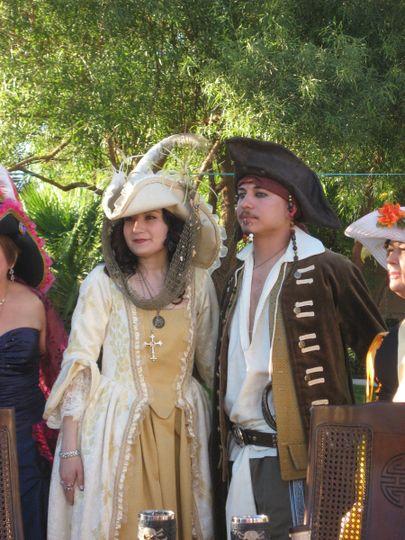 A PIRATE'S WEDDING Mr. & Mrs. Adam & Teresa Martinez