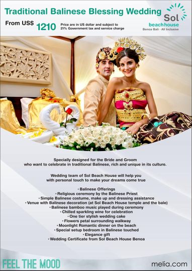 traditional balinese blessing wedding