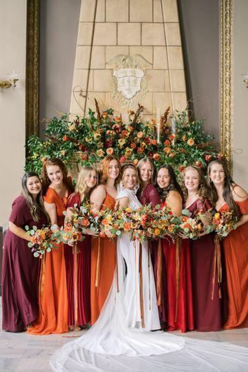 Bridesmaids- Photo Heather Nan