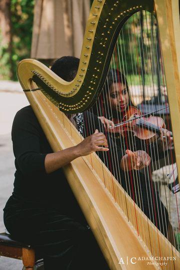 Harpist and Udeshi
