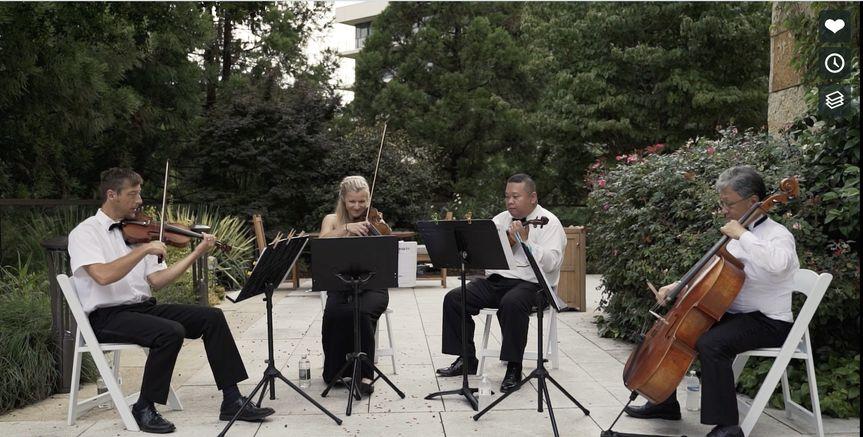 Quartet playing