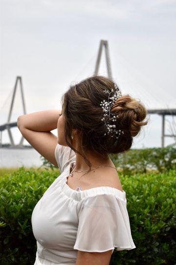Elegant hair piece