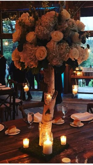 High Rustic Centerpiece