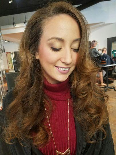 Perfect elegant makeup