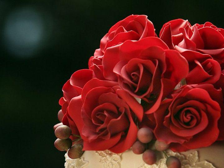 Tmx 1362096070666 Anaparzychweddingcakesredsugarroses Greenwich wedding cake