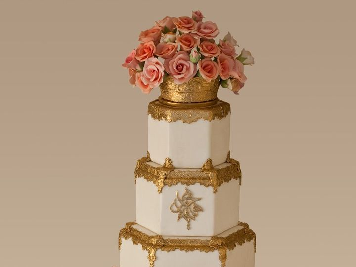 Tmx 1362096479412 Droppedbackground Greenwich wedding cake