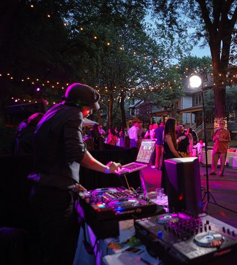 DJ A.D. mixes live during your reception on state of the art turn tables, This ensures seamless...