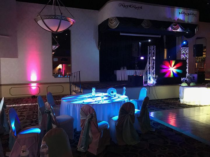 Our Uplighting Packages can transform any venue into your perfect vision.