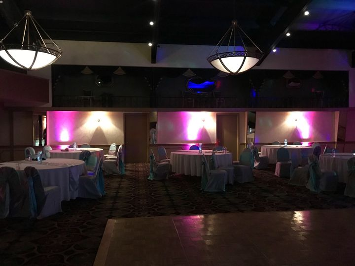 Uplighting is the perfect way to enhance your reception venue & create a magical ambience for you...