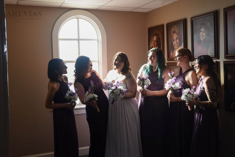 Bridal party | Lincolnton, NC