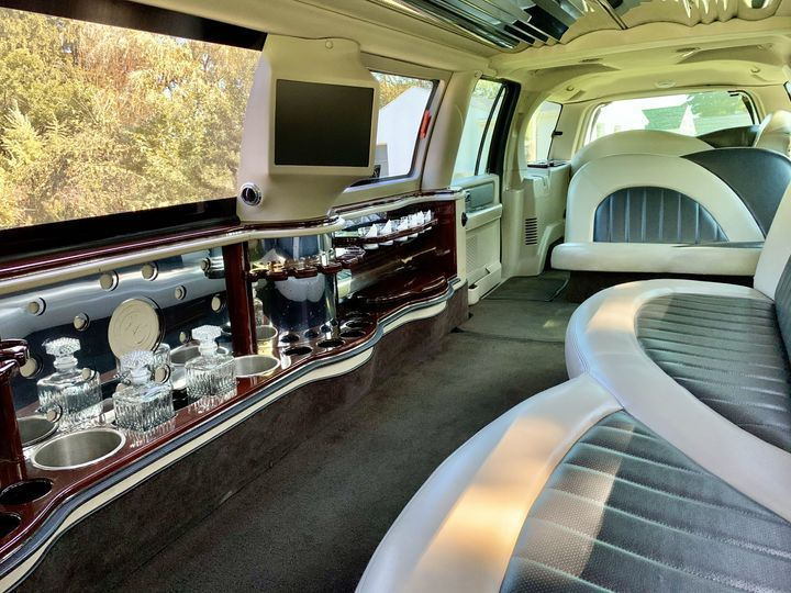 Expedition interior in daytime