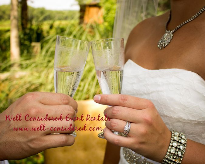 cheers with jewelry
