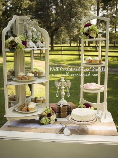 cake table detail