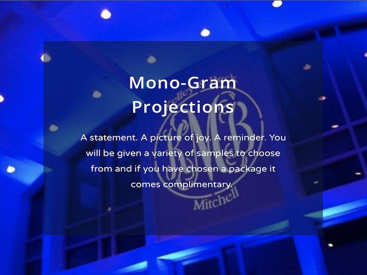 Tmx Mono Gram Projections Wedding Wire 51 1989045 160305178453747 Lufkin, TX wedding dj