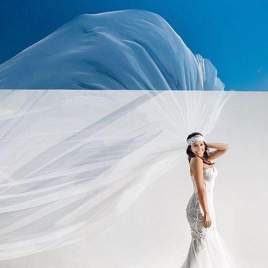 Flowing dress