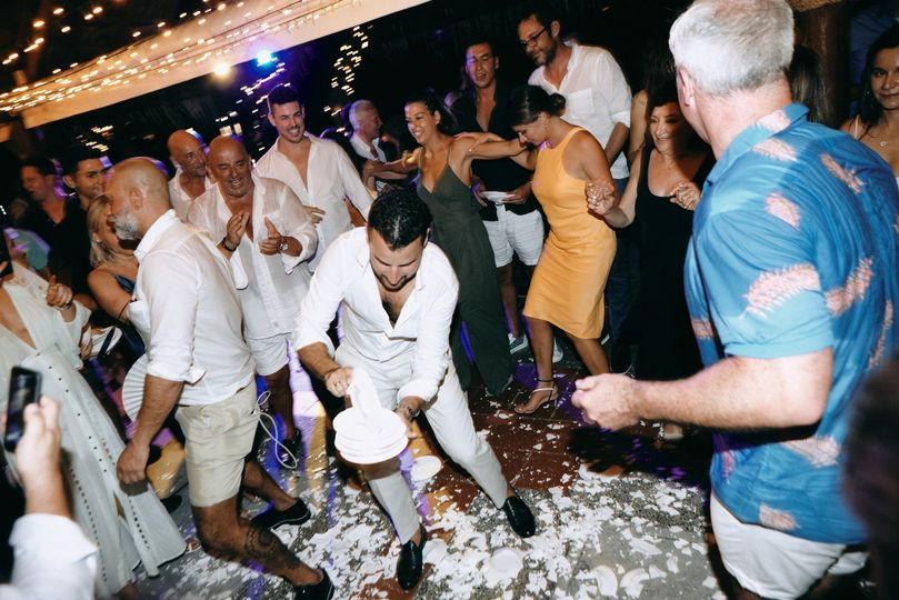 Smashing celebration